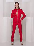 Красный повседневный костюм With Pepper