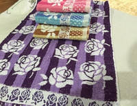 Метровые полотенца Розочка