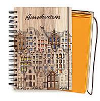 """Блокнот скетчбук """"Амстердам"""" с цветным внутренним блоком СКИДКА, фото 1"""