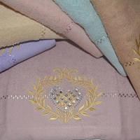 Метровые полотенца Сердечко