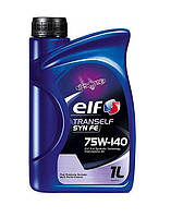 Трансмиссионное масло Elf TransElf SYN FE 75W140 1л.