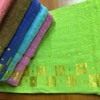 Метровые полотенца Золотой квадрат