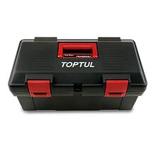 Ящик для инструмента  3 секции (пластик) 445(L)x240(W)x202(H)mm Toptul TBAE0301 (Тайвань)