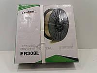 Проволока сварочная нержавеющая ER308L d0,8 5кг