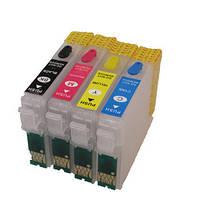 Перезаправляемые картриджи для EPSON Stylus S22 SX125 SX130 SX230 SX430 BX305