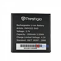 Аккумулятор Prestigio MultiPhone 4322 Duo / PAP4322 DUO (1450-1500 mAh)