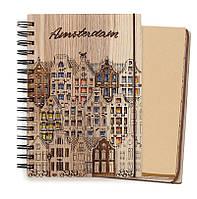 """Блокнот скетчбук """"Амстердам"""" с крафтовым внутренним блоком, фото 1"""