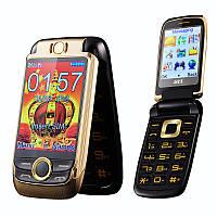 BLT V998 раскладной телефон, двойной экран 2SIM