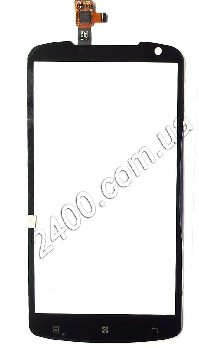 Тачскрин (сенсор) Lenovo S 920 для телефона черный