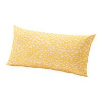 """ИКЕА """"ГРЕНО"""" Подушка для садовой мебели, желтый, белый"""