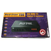 Тюнер DVB-T Wold Vision T59 (блок питания 5V;USB 2.0, AVI;MPEG4 и т.д)(34 канала прием)