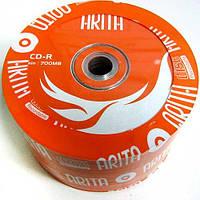 Диск CD-R  Arita 700Mb/80min 52-x (bulk 50)оранж.