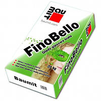 Baumit FinoBello белая сухая гипсовая финишная шпаклевка для внутренних работ, 20 кг