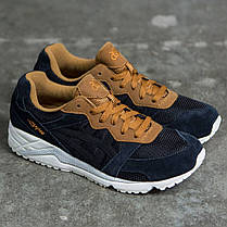 Женские кроссовки Asics Tiger Gel-Lique Black Cathay Spice H6K0L-9077, Асикс Гель Лик, фото 2