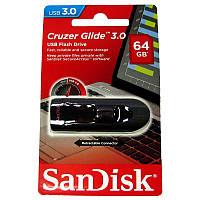 Флешка  64Gb SanDisk Cruzer Glide USB3.0 Black