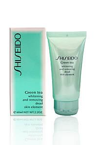 Пилинг для лица Shiseido «Green Tea»