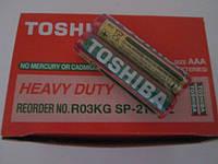 Батарейки Toshiba R03 AAA