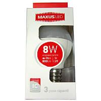 Лампочка  светодиодная Maxus led 5414  G45 F 8W  E27  4100K