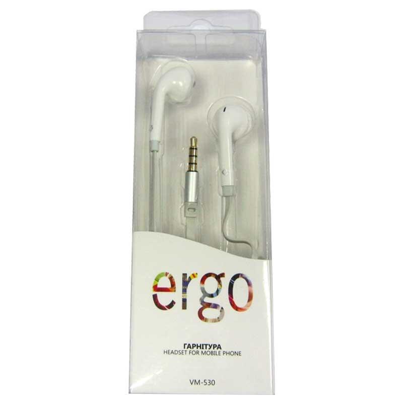 Гарнитура для телефона ERGO VM-530 white - интернет-магазин