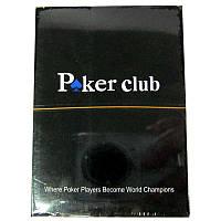 Карты игральные  Poker Club (Красная рубашка),100%Plastic
