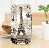 Оригинальный чехол накладка для Samsung Galaxy Core i8260 i8262 с картинкой Башня винтаж