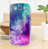 Оригинальный чехол накладка для Samsung Galaxy Core i8260 i8262 с картинкой Космос