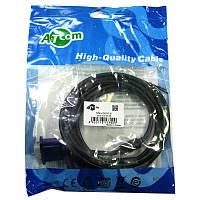 Кабель   VGA-VGA (DE-15Hd) ATcom с ферритом  3,0m