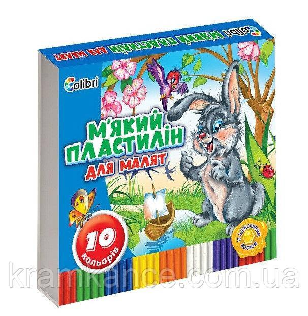 "Пластилин Мицар COLIBRI 10цв ""Кроха"" Ц348022у"