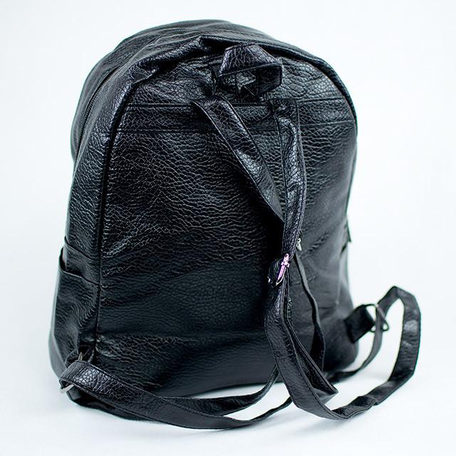 Черный модный городской рюкзак женский Звезда