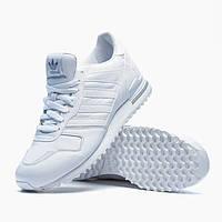 Кроссовки женские Adidas ZX 700 OG Triple White (адидас) белые