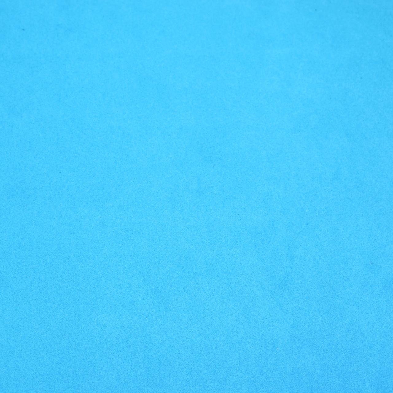 Фоамиран 2 мм, 50x50 см, Китай, ГОЛУБОЙ