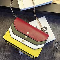 Модная разноцветная сумочка
