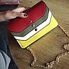 Модная разноцветная сумочка, фото 3