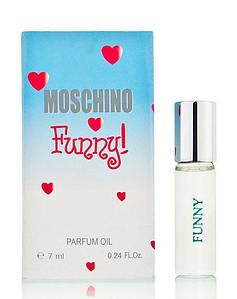 Масляный мини-парфюм с феромонами Moschino Funny (Москино Фанни), 7 мл