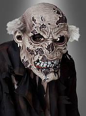 Подвижная маска зомби