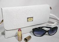 Комбинированный модный женский деловой клатч