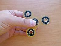 Противоударный спиннер для рук бронзовый, Hand Spinner, Finger Spinner (4 подшипника)