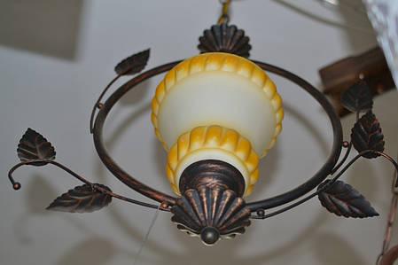 Люстра, 1 лампа, подвесная, фото 2
