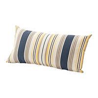 """ИКЕА """"ГРЕНО"""" Подушка для садовой мебели, синий, серый"""