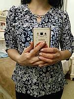 Стильная блуза для женщин, батист,  S,M,L,ХL р-ры, 225/195 (цена за 1 шт. + 30 гр.)