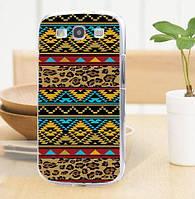 Силиконовый бампер для Samsung Galaxy Core i8260 i8262 с картинкой Орнамент 2