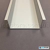 Профиль для светодиодной ленты врезной PML-400 (с крышкой)