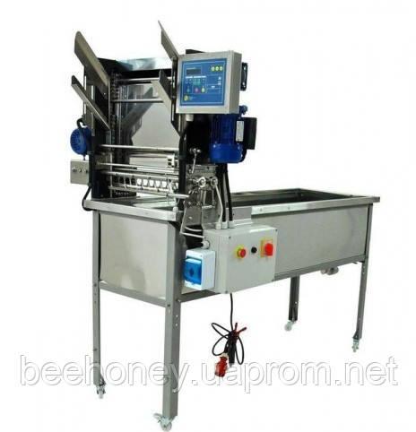 Разпечатувач сот з автоматичною подачею рамок (електричні ножі), 380 В