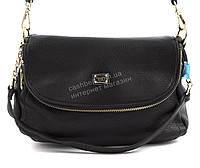 Компактная стильная женская оригинальная сумочка MEE CAROL  art. 18861 черная