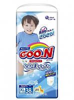 Подгузники-трусики Goo.N для мальчиков 12-20 кг, размер Big XL, 38 шт