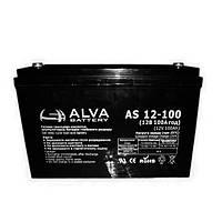 Аккумуляторная батарея Alva AS12-100 (100Ачас/12В)