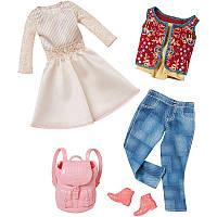 Одежда для Барби. Комплект Бохо из двух нарядов. Barbie Fashion 2-Pack - Boho