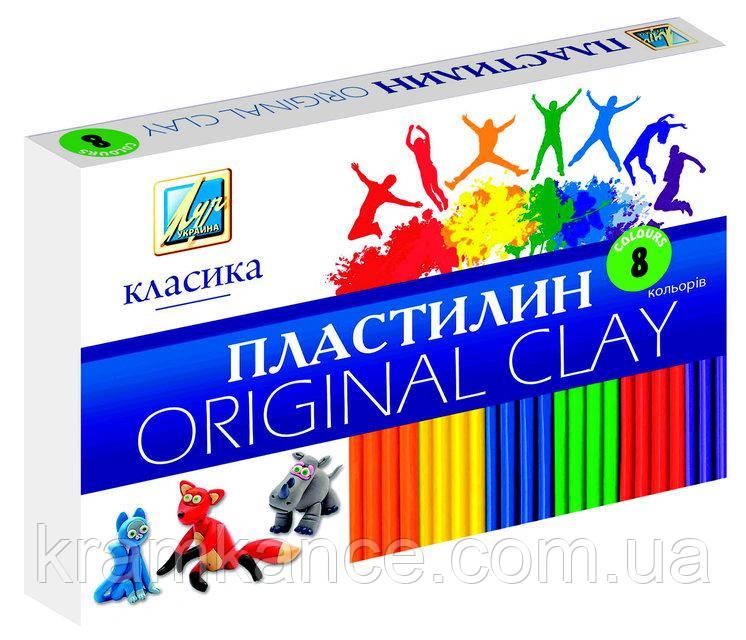 """Пластилин Луч Украина 8цв. """"Классика"""" Ц259013"""