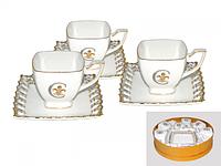 Сервиз чайный 12 пр. Золотая лилия SNT 1705