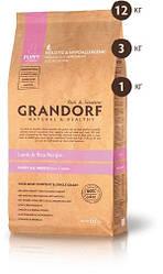 Grandorf корм для щенков с 3-х недель мелких и средних пород с ягненком и рисом Lamb & Rice Puppy 3кг